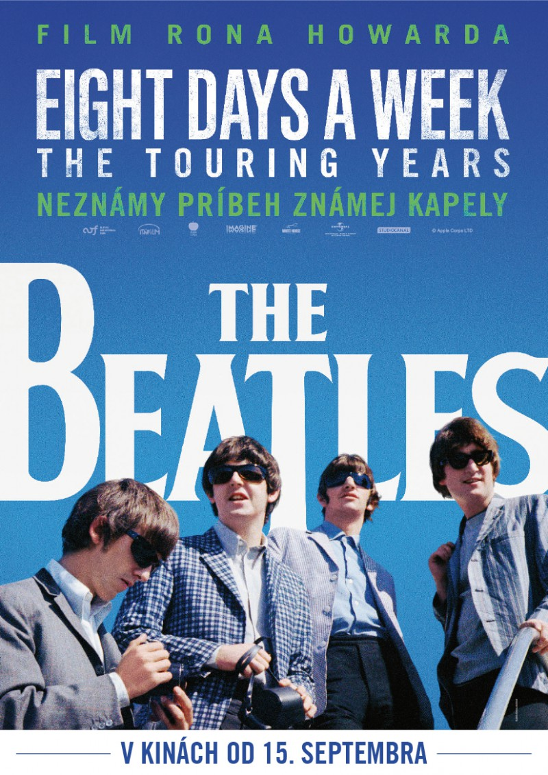 Plakát k filmu THE BEATLES: EIGHT DAYS A WEEK - The Touring Years